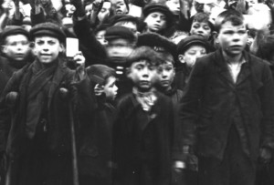 Sunday School children 1909